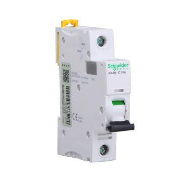 九州彩票Schneider 微型断路器 iC65N 1P C10A,A9F18110