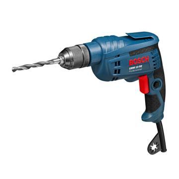 博世手电钻,10mm可调速正反转 GBM 10RE,450W,0601473583