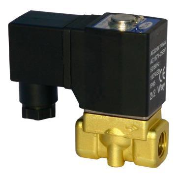 亚德客AirTAC 流体阀,2位2通直动常闭黄铜大流量型,2WL050-15-A