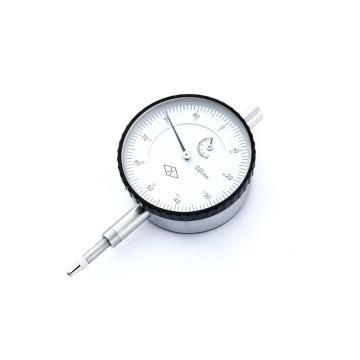 上量 百分表,0-10mm(平行后盖)带钻防震