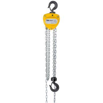 耶鲁 手拉葫芦,VS III 0.5 T/单链,3 米提升高度 进口镀锌链条,VS III 0.5/1