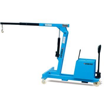 手动单臂吊, 载重150-550Kg 水平有效长度EL:400-1500mm 吊钩最大高度2900mm