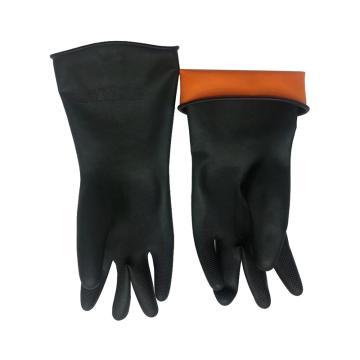 耐酸碱手套,30cm,橡胶