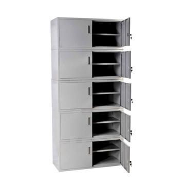 五节凭证柜(组装,每节尺寸390*900*400) 总尺寸1850x900x400  钢板0.8mm 仅限上海