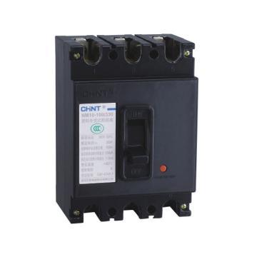 正泰CHINT 塑殼斷路器,NM10-100/330 100A