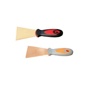 桥防 防爆塑柄泥子刀,铝青铜,40*200mm,203A-1004AL