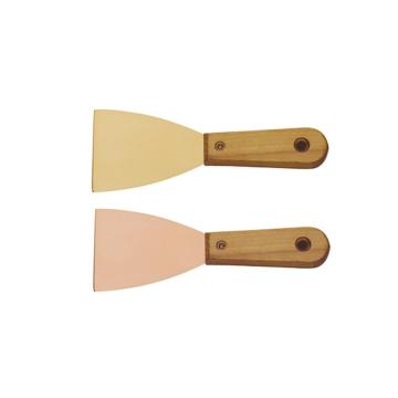 桥防 防爆木柄泥子刀,铍青铜,75*200mm,204E-1002BE