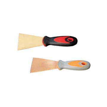 桥防 防爆塑柄泥子刀,铝青铜,25*200mm,203A-1002AL