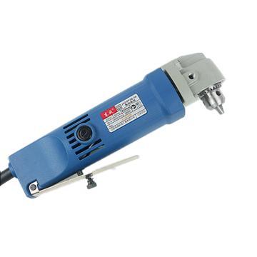 东成角向电钻,380W 0-1400r/min,夹持能力10mm,J1Z-FF06-10