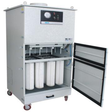 一体式脉冲反吹型中央式烟尘净化器,ROVA,MC-40,4kw,全自动脉冲清灰