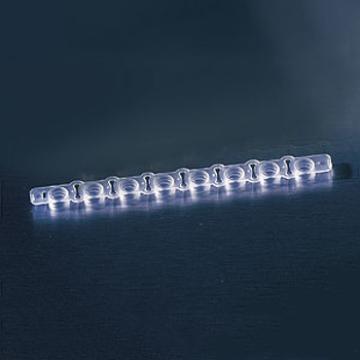 标准条板,8孔,平底,透明,高结合,用于酶联免疫检测,无盖,25个/包