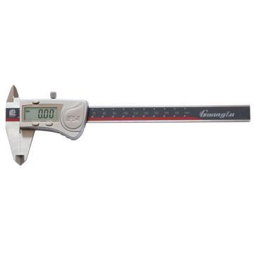 广陆 数显卡尺,0-150mm(IP54防水)