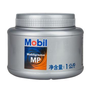 美孚 鋰基汽車潤滑脂,Mobilgrease MP,1kg/桶