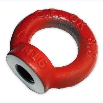 多来劲 吊环螺母,80级 (DIN582) M10 90°以下载荷250kg,09907210