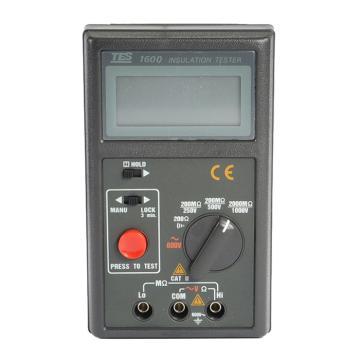 泰仕/TES 数字式绝缘测试器,TES-1600