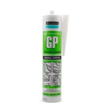 道康宁 酸性硅酮密封胶,GP系列铝色,300ml