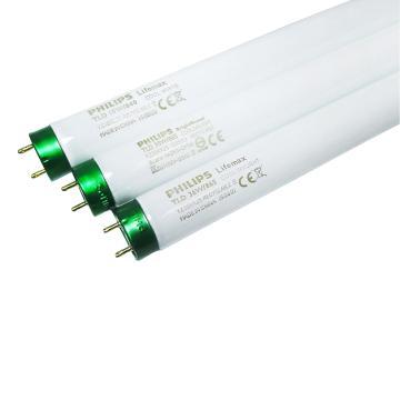 飞利浦 36W T8三基色直管荧光灯管 1.2米长度管,TLD 36W/865 白光 (T8) 整箱 25只/箱