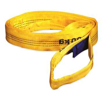 多来劲 扁吊带,扁平吊环吊带, 3T×4m 黄色