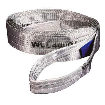 扁吊带,扁平吊环吊带, 4T×1m 灰色