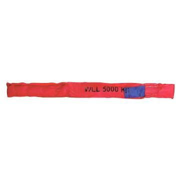 多來勁 圓吊帶,圓形吊裝帶 5T×2m 紅色 ,0514 5512 02