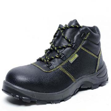 代尔塔 经典系列S1P中帮安全鞋,防砸防刺穿防静电,35,301101