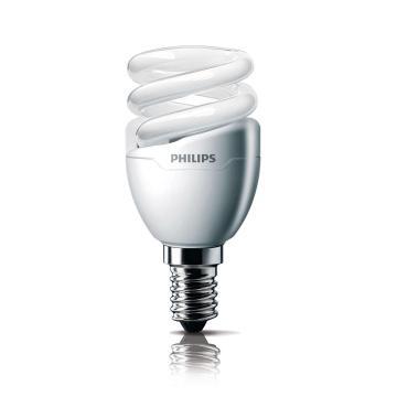 飛利浦 Tornado T2 螺旋形節能燈,5W CDL 白光 E14,單位:個
