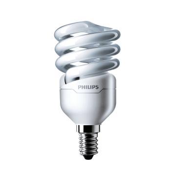 飛利浦 Tornado T2 螺旋形節能燈,12W CDL 白光 E14,單位:個