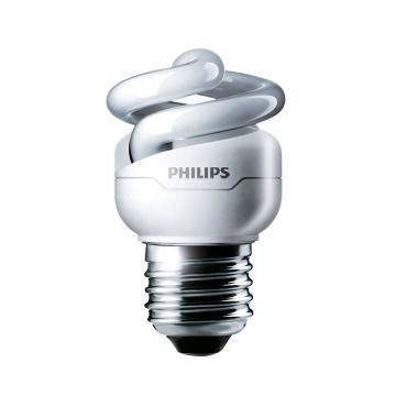 飛利浦 Tornado T2 螺旋形節能燈,5W CDL 白光 E27,單位:個