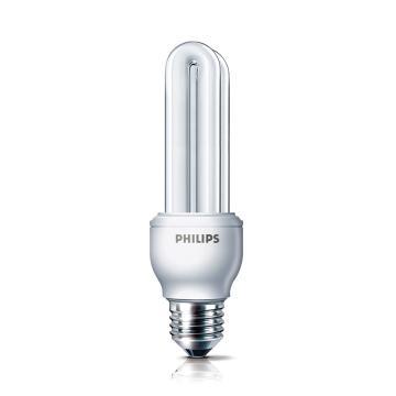 飞利浦 5W Essential标准型 2U节能灯,5W CDL 白光 E27
