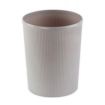 齐心COMIX 圆形清洁桶,L204,25.5cm 灰