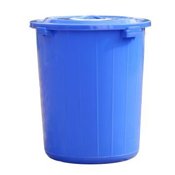 圆形塑料垃圾桶,100L 直径510mmxH630mm