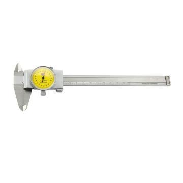 广陆 带表卡尺(刻线),0-150mm,171-132A