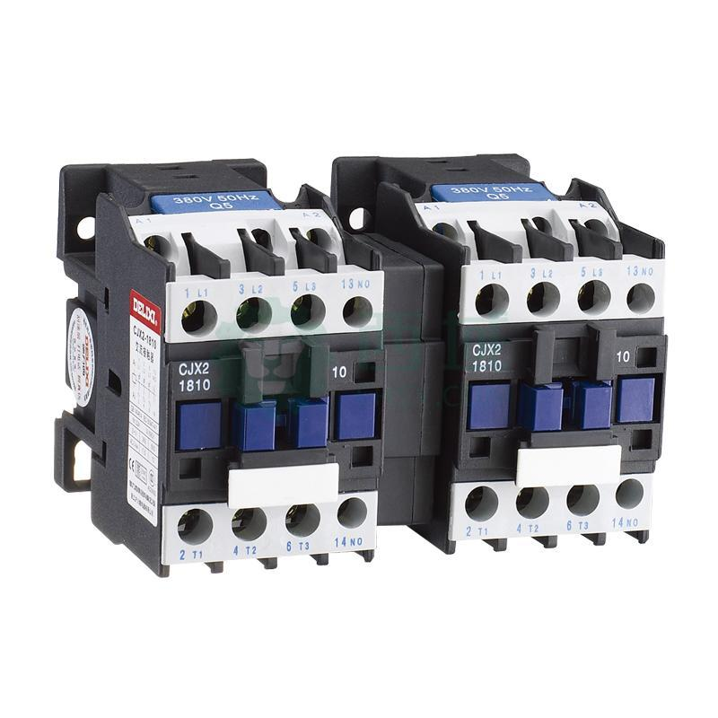 德力西 可逆接触器,cjx2-18n/10 110v带电气连锁,cjx2