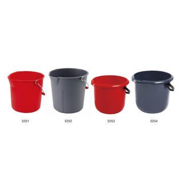 特耐適(Trust)小圓桶,10L,5251藍色