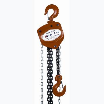 虎力 欧式重型手拉葫芦,额定载重(T):1