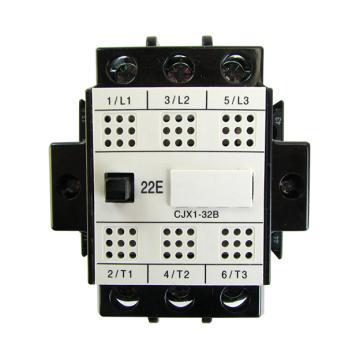 德力西 交流线圈接触器,cjx1-32b/22 24v,cjx132b22b