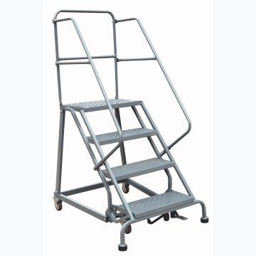 虎力 移动登高平台梯,额定载重(kg):160 顶层高度(mm):1020 层数:4,RL354B