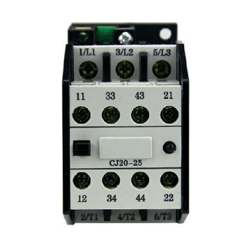 德力西 交流线圈接触器,CJ20-25 220V,CJ202522M