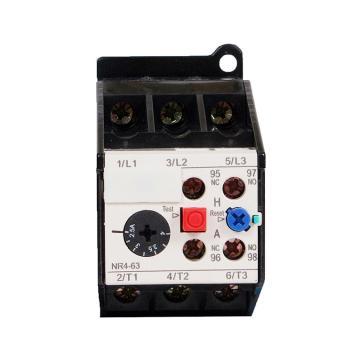 正泰CHINT NR4系列热过载继电器,NR4(JRS2)-63/F 0.4-0.63A