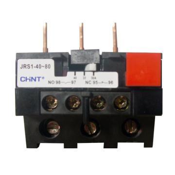 正泰CHINT 热过载继电器,JRS1-40-80/Z 30-40A