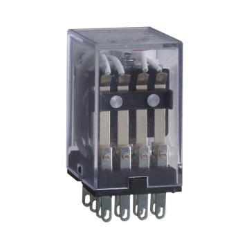 正泰CHINT JZX-22F小型中功率电磁继电器,JZX-22F/4Z 插 DC48V