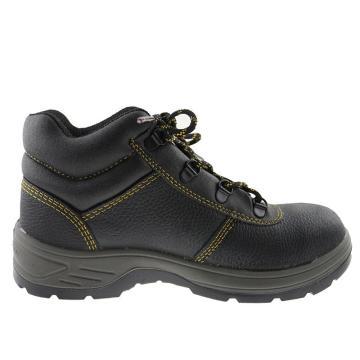 代尔塔 中帮安全鞋,防砸防刺穿防静电,40,301904