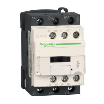 施耐德Schneider 交流线圈接触器,LC1D12Q7C,12A,380V,三极