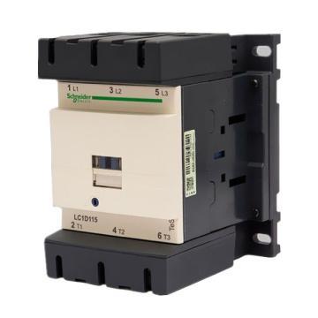 施耐德 交流线圈接触器,LC1D11500M7C,115A,220V,三极