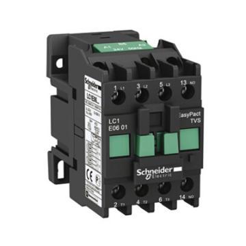 施耐德 EasyPact TVS(TeSys E)交流线圈接触器,LC1E0601F6N