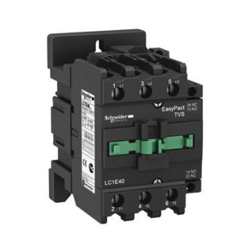 施耐德 EasyPact TVS(TeSys E)交流线圈接触器,LC1E50CC5N