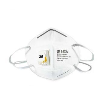 3M 防尘口罩,9502V,KN95头带式,25个/盒