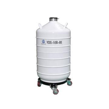亚西生物储存两用型容器,YDS-50B-80,容积:50L,防锈铝合金材质
