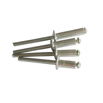 東明 GB12618開口扁圓頭抽芯鉚釘,M4X16,半不銹鋼,250支/包