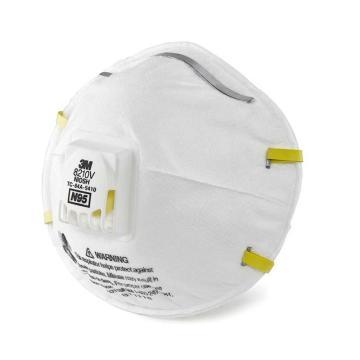 3M 8210V 带阀防颗粒物口罩,10个/盒